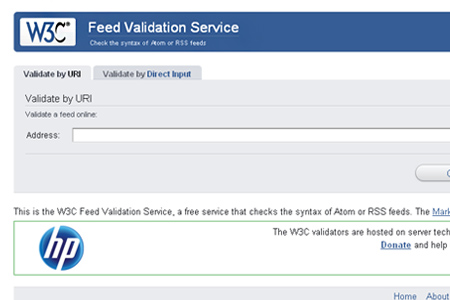 W3C Feed Validation Service