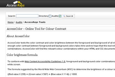 AccessColor Tool