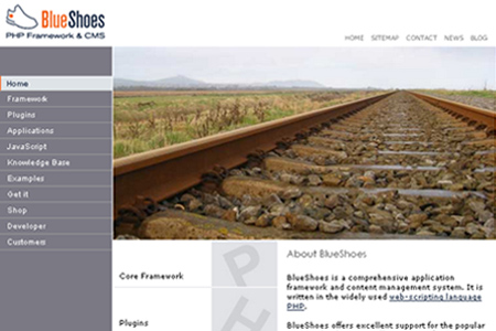 BlueShoes PHP Framework and CMS