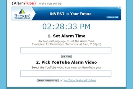 alarmtube clock