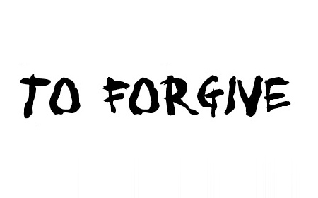 To forgive font