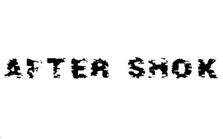 After Shok Font