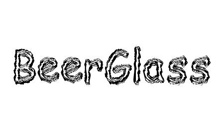 BeerGlass Font