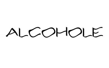 Alcohole Font