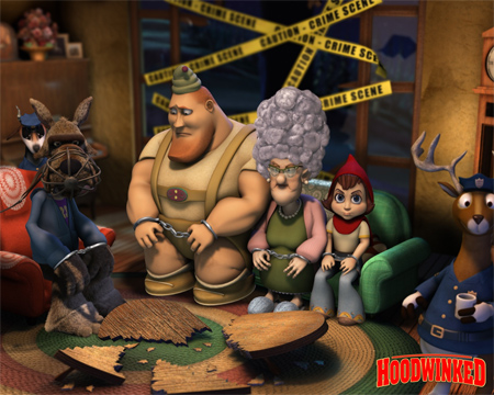 Hoodwinked family wallpapers