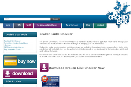 OrchidBox - Broken Links Checker