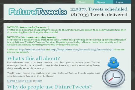 future tweets