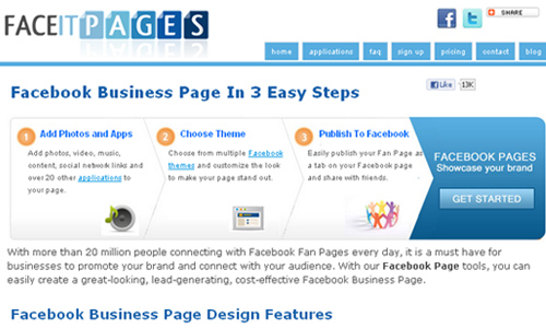 Face It Pages