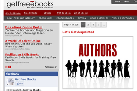 Get Free Ebooks - Download Free Ebooks Legally