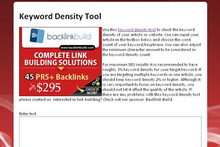 KeywordDensityTools.com