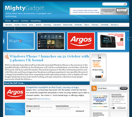 Mighty Gadget Blog