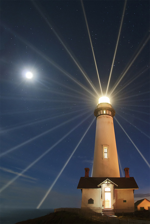 Light Source - Pigeon Point Lighthouse, San Mateo County, California