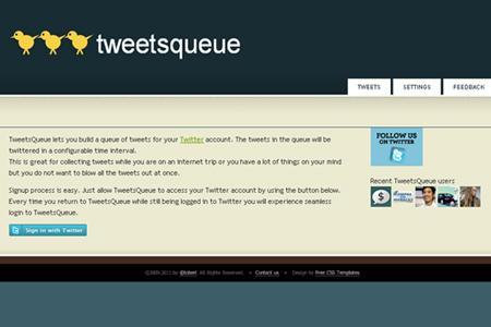 tweetsqueue