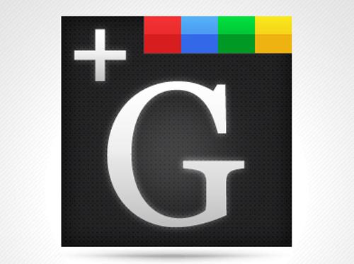 G+ Icon 256x256 PSD