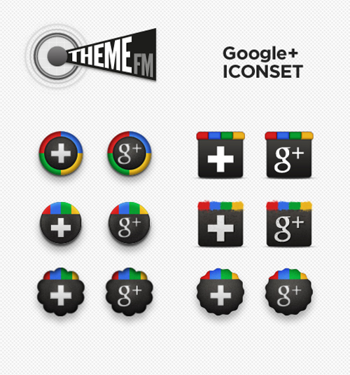 12 Gorgeous Google+ Icons For Your Website