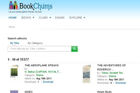 book chums