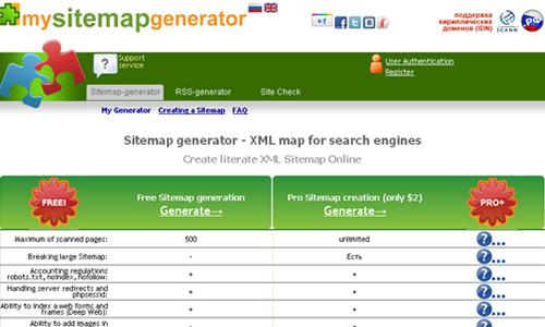 20 Free Online XML Sitemap Generator Tools - blueblots.com