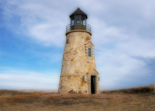 Lighthouse At The Dunes