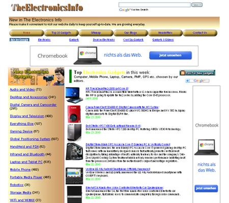 the electronics info