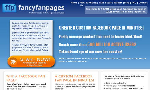 fancyfanpages