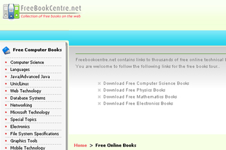 freebookcentre.net