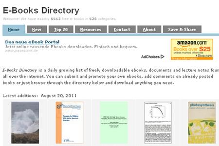 e-books directory