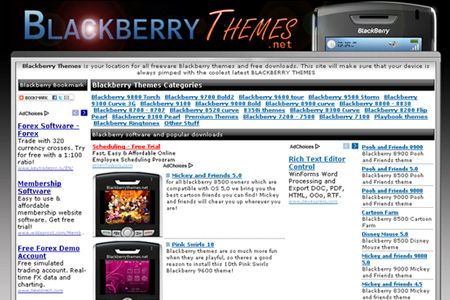 Blackberry Themes.net