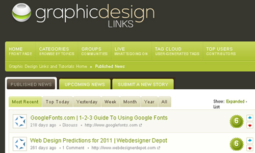 Graphic Design Links and Tutorials