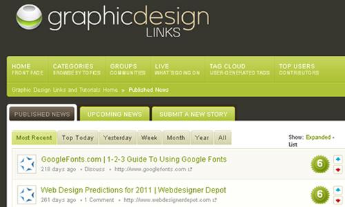 Graphic Design Links and Tutorials