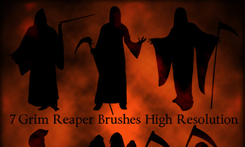 Grim Reaper Brushes