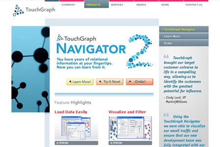 touchgraph