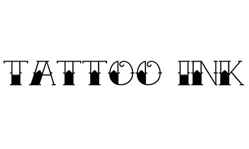 Tattoo Ink font