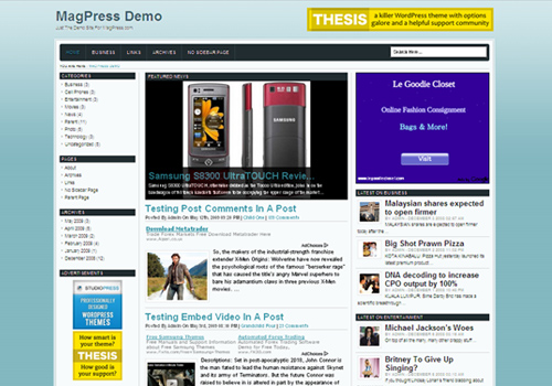 20 High-Quality Free Wordpress Themes Released in September 2011 ...