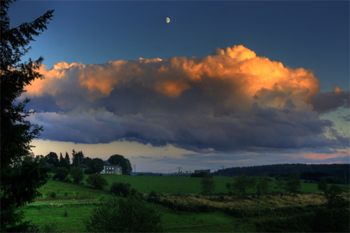 Great sky in Belgium (HDR)