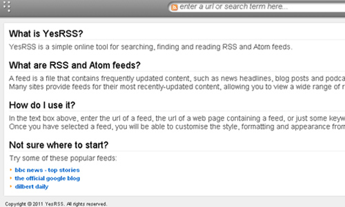 17 Accessible Web Based RSS Readers - blueblots com