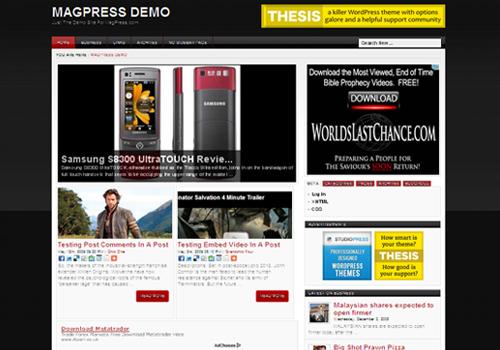 investa wordpress theme