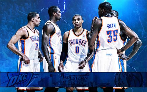 Oklahoma City Thunder 2011 NBA Conference Finals Widescreen Wallpaper