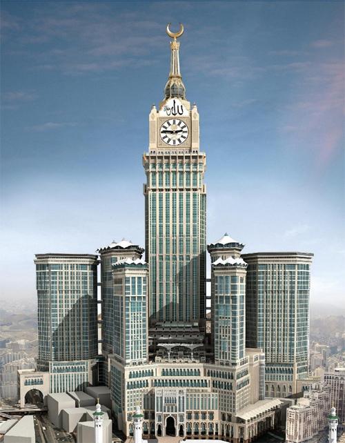 Abraj Al-Bait Towers Mecca KSA