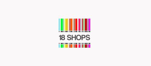 18 Shops logo