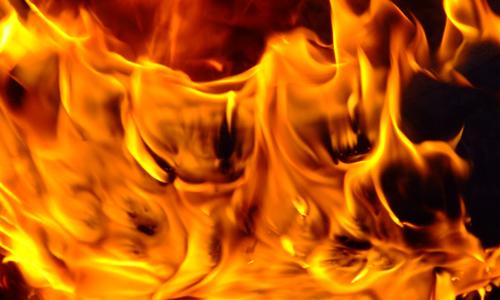 Burning Tire 2