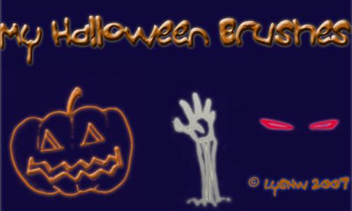 Halloween Kid Brushes
