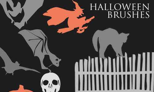 Photoshop Halloween Brushes