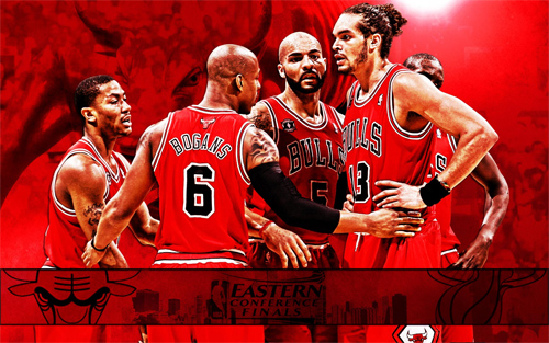 Chicago Bulls 2011 NBA Conference Finals Widescreen Wallpaper