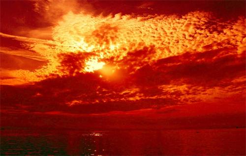 Majestic sky & dramatic sunset