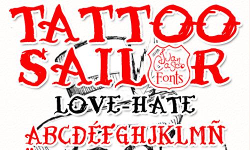 25 Freely Downloadable Tattoo Fonts - blueblots.com