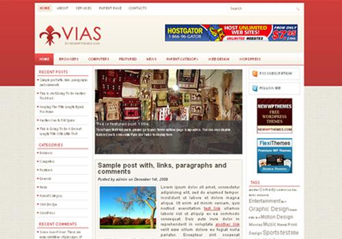vias WordPress Theme