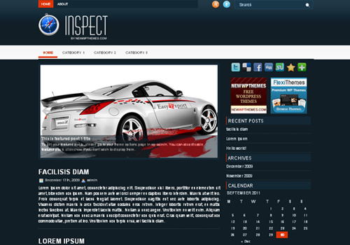 Inspect WordPress Theme