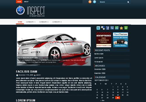 Inspect WordPress Theme