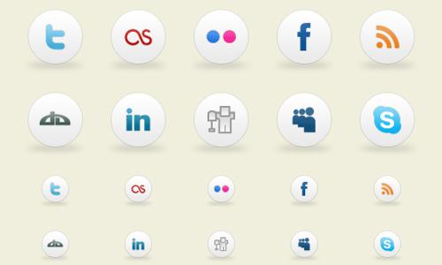 Smoothies Social Media Icons