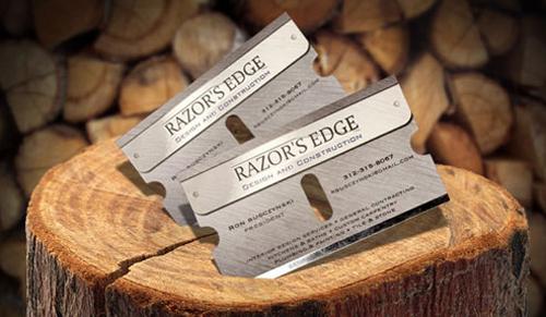 Razor's Edge Business Card